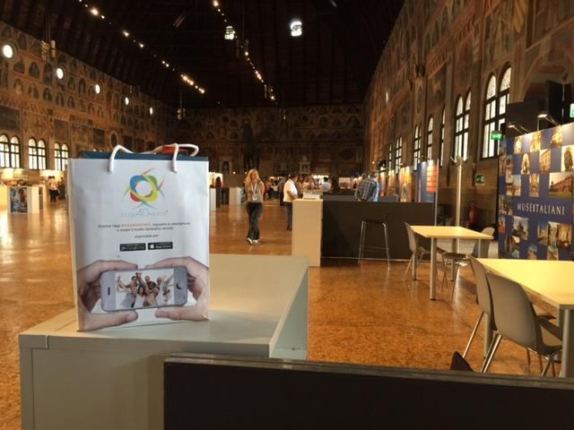Read more about the article Bags4Dreams al Salone Mondiale del Turismo dei Siti Unesco a Padova